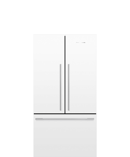 Freestanding French Door Refrigerator Freezer, 90cm, 569L