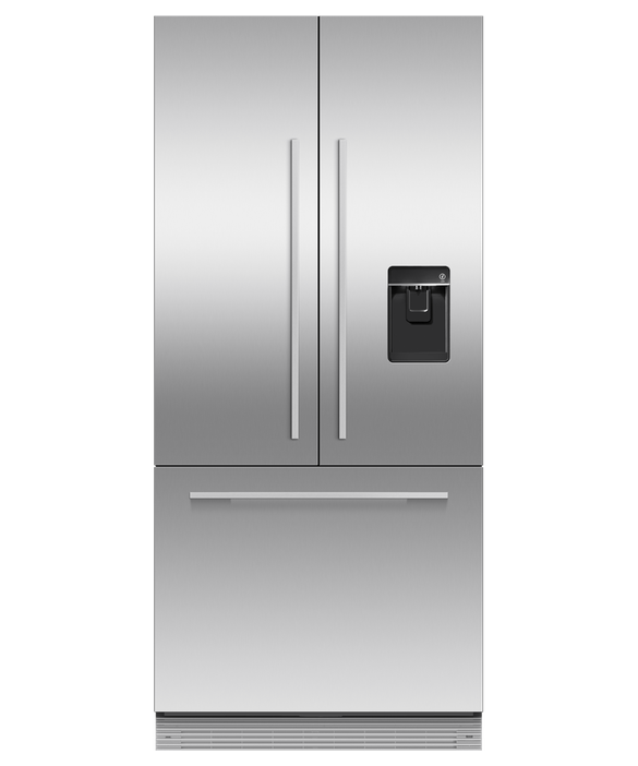 """Integrated French Door Refrigerator Freezer, 32"""", Ice & Water, pdp"""