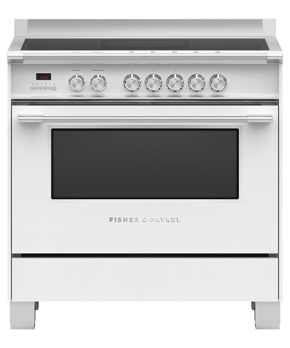 Freestanding Cooker, Induction, 90cm, 5 Zones with SmartZone, pdp