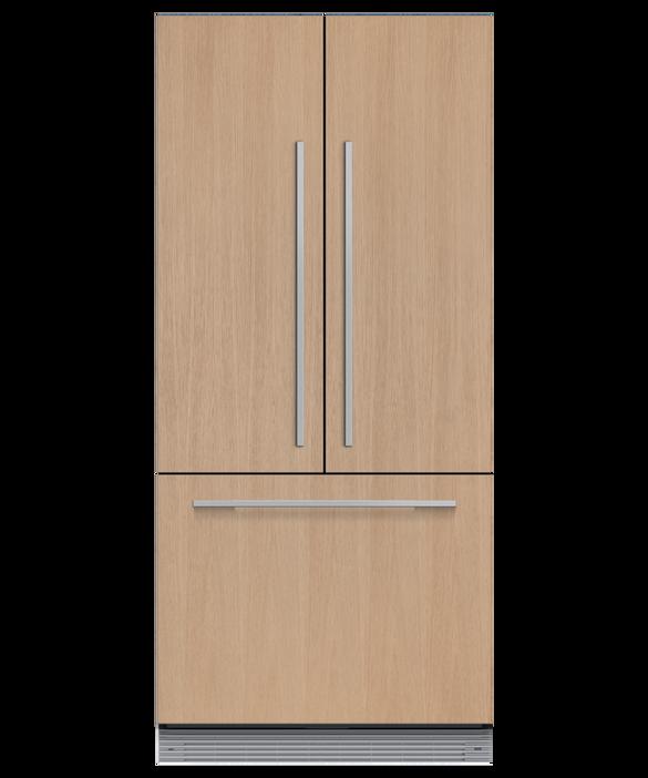 Integrated French Door Refrigerator Freezer, 80cm, pdp