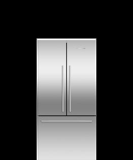 Freestanding French Door Refrigerator Freezer, 32