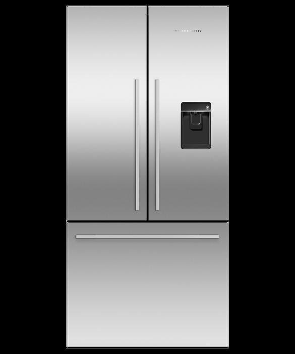 """Freestanding French Door Refrigerator Freezer, 32"""", 17 cu ft, Ice & Water, pdp"""