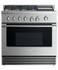 "Dual Fuel Range, 36"", 4 Burners with Griddle, LPG gallery image 1.0"