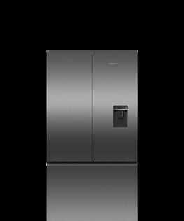 Freestanding French Door Refrigerator Freezer, 90cm, 614L, Ice & Water