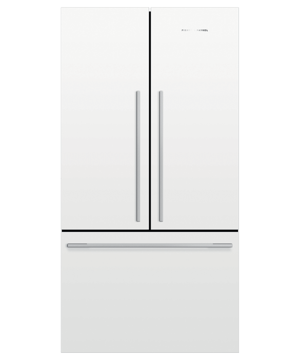 Freestanding French Door Refrigerator Freezer, 90cm, 545L, pdp