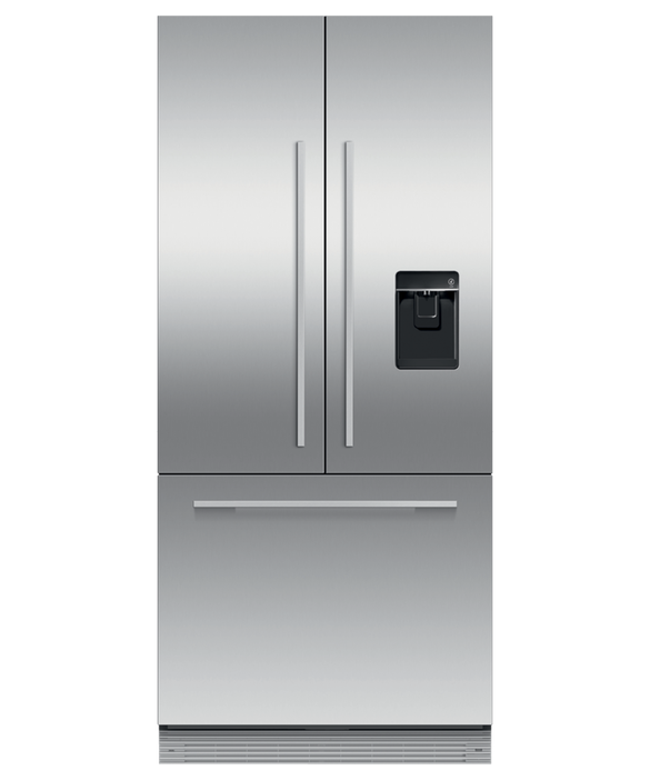"Integrated French Door Refrigerator Freezer, 32"", Ice & Water, pdp"