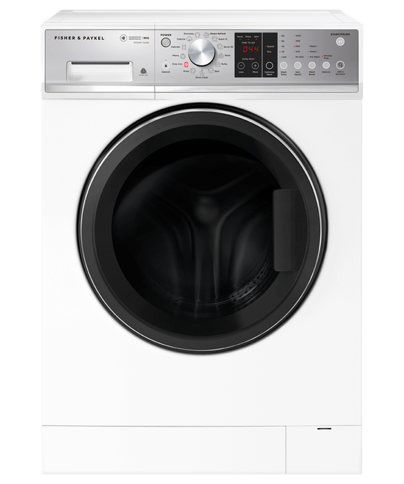 Front Loader Washing Machine, 9kg with Steam Refresh, pdp