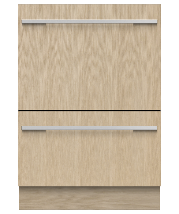 Integrated Double DishDrawer™ Dishwasher, Tall, Sanitise, pdp