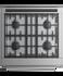 "Gas Range, 30"", 4 Burners gallery image 2.0"