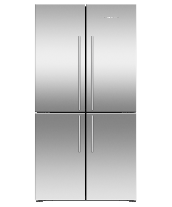 Freestanding Quad Door Refrigerator Freezer , 90.5cm, 538L, pdp