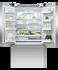 """Freestanding French Door Refrigerator Freezer, 36"""", 20.1 cu ft, Ice & Water gallery image 2.0"""