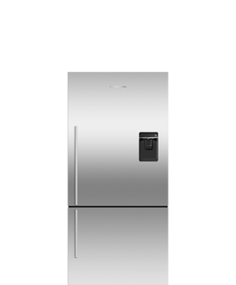 Freestanding Refrigerator Freezer, 79cm, 469L, Ice & Water