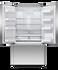 Freestanding French Door Refrigerator Freezer, 90cm, 614L, Ice & Water gallery image 2.0