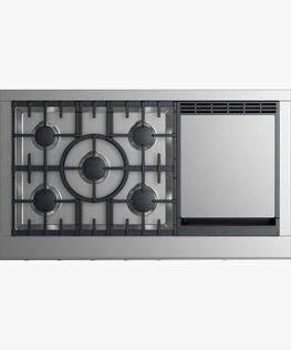 "Gas Rangetop, 48"", Griddle"