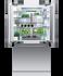 "Integrated French Door Refrigerator Freezer, 36"", Ice gallery image 7.0"