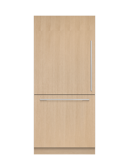 Integrated Refrigerator Freezer, 90.6cm, Ice