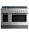 "Dual Fuel Range, 48"", 8 Burners, LPG gallery image 1.0"