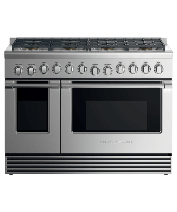 "Dual Fuel Range, 48"", 8 Burners, LPG, pdp"