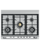 "Dual Fuel Range, 36"", 5 Burners, Self-cleaning gallery image 5.0"
