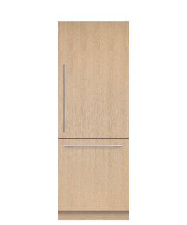 Integrated Refrigerator Freezer, 76.2cm, Ice & Water