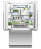 "Integrated French Door Refrigerator Freezer, 36"", Ice & Water gallery image 2.0"