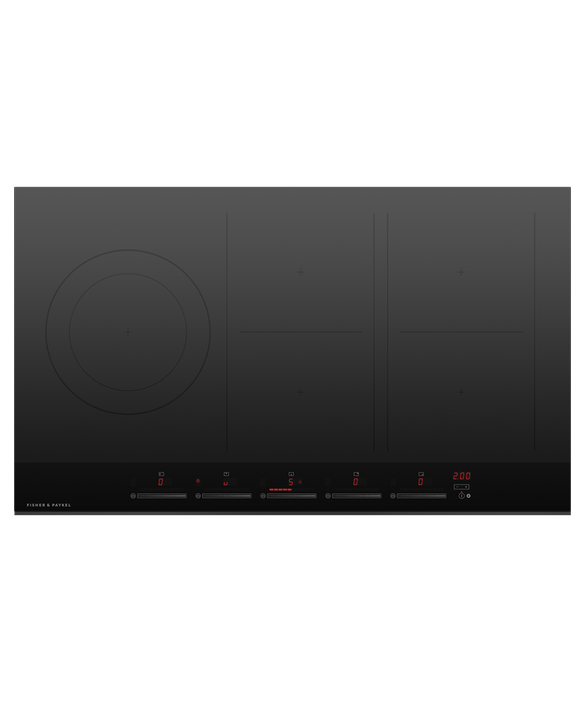 Induction Cooktop, 90cm, 5 Zones with SmartZone, pdp