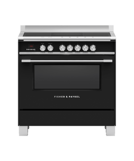 Freestanding Cooker, Induction, 90cm, 5 Zones with SmartZone