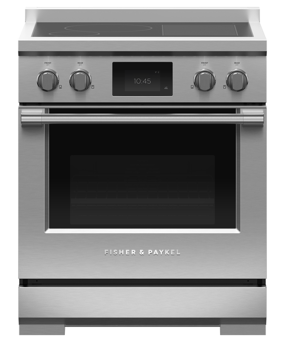 """Induction Range, 30"""", 4 Zones with SmartZone, Self-cleaning, pdp"""