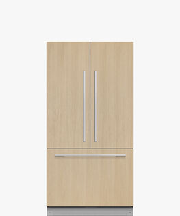 Integrated French Door Refrigerator Freezer, 90cm