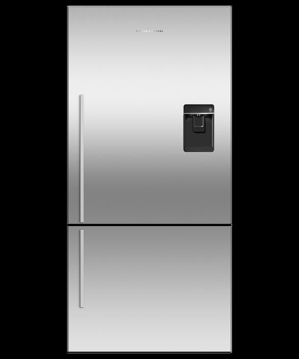 Freestanding Refrigerator Freezer, 79cm, 494L, Ice & Water, pdp