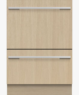 Integrated Double DishDrawer™ Dishwasher, Tall, Sanitize