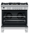 "Dual Fuel Range, 36"", 5 Burners, Self-cleaning gallery image 3.0"