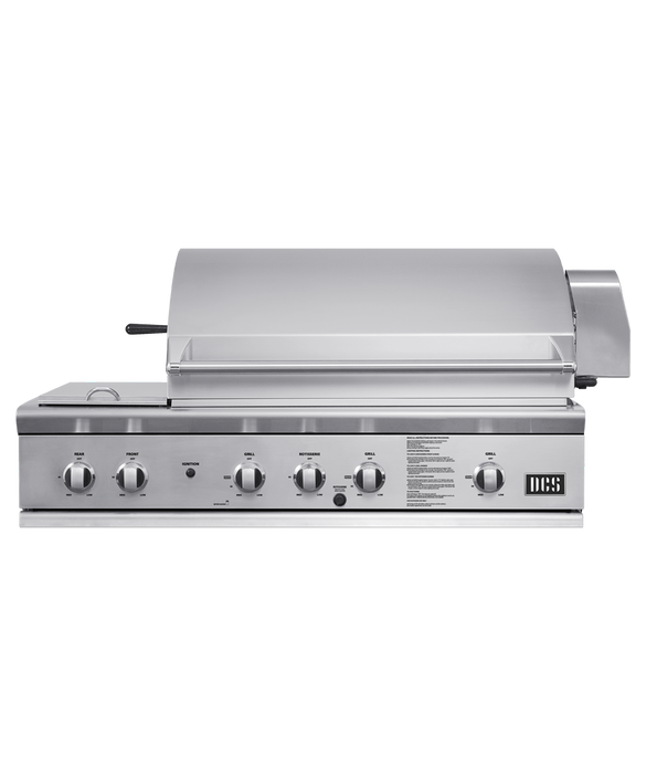 """DCS Grill, 48"""", Rotisserie, Side Burners, pdp"""