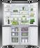 Freestanding Quad Door Refrigerator Freezer, 90.5cm, 605L, Ice & Water gallery image 3.0