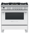 "Dual Fuel Range, 36"", 5 Burners, Self-cleaning gallery image 1.0"