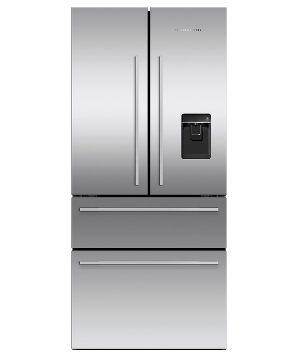 "Freestanding French Door Refrigerator Freezer, 32"", 16.9 cu ft, Ice & Water, pdp"