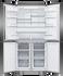 Freestanding Quad Door Refrigerator Freezer, 90.5cm, 605L gallery image 3.0