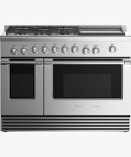 """Gas Range, 48"""", 5 Burners with Griddle"""