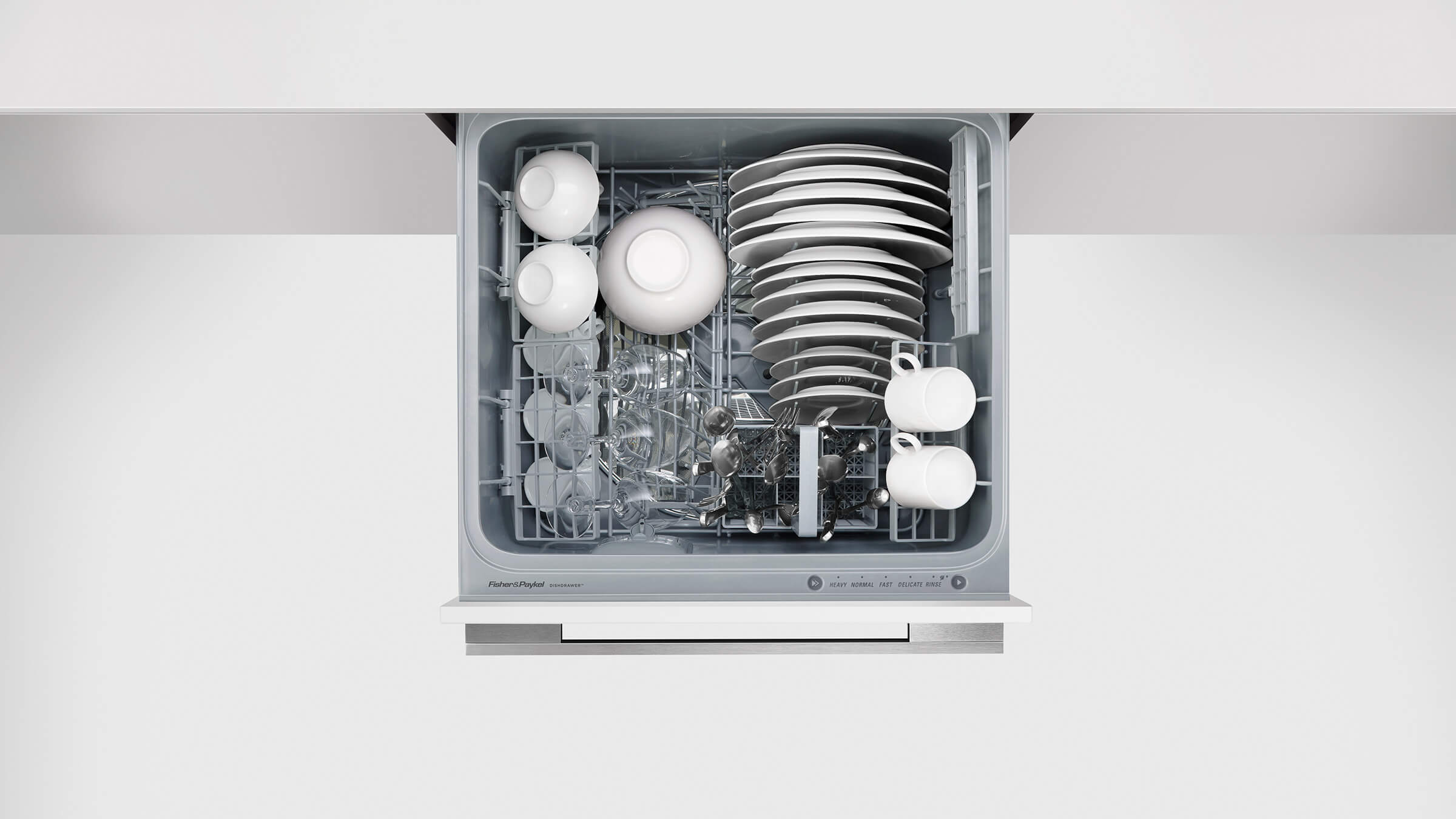 fisher and paykel double drawer dishwasher manual