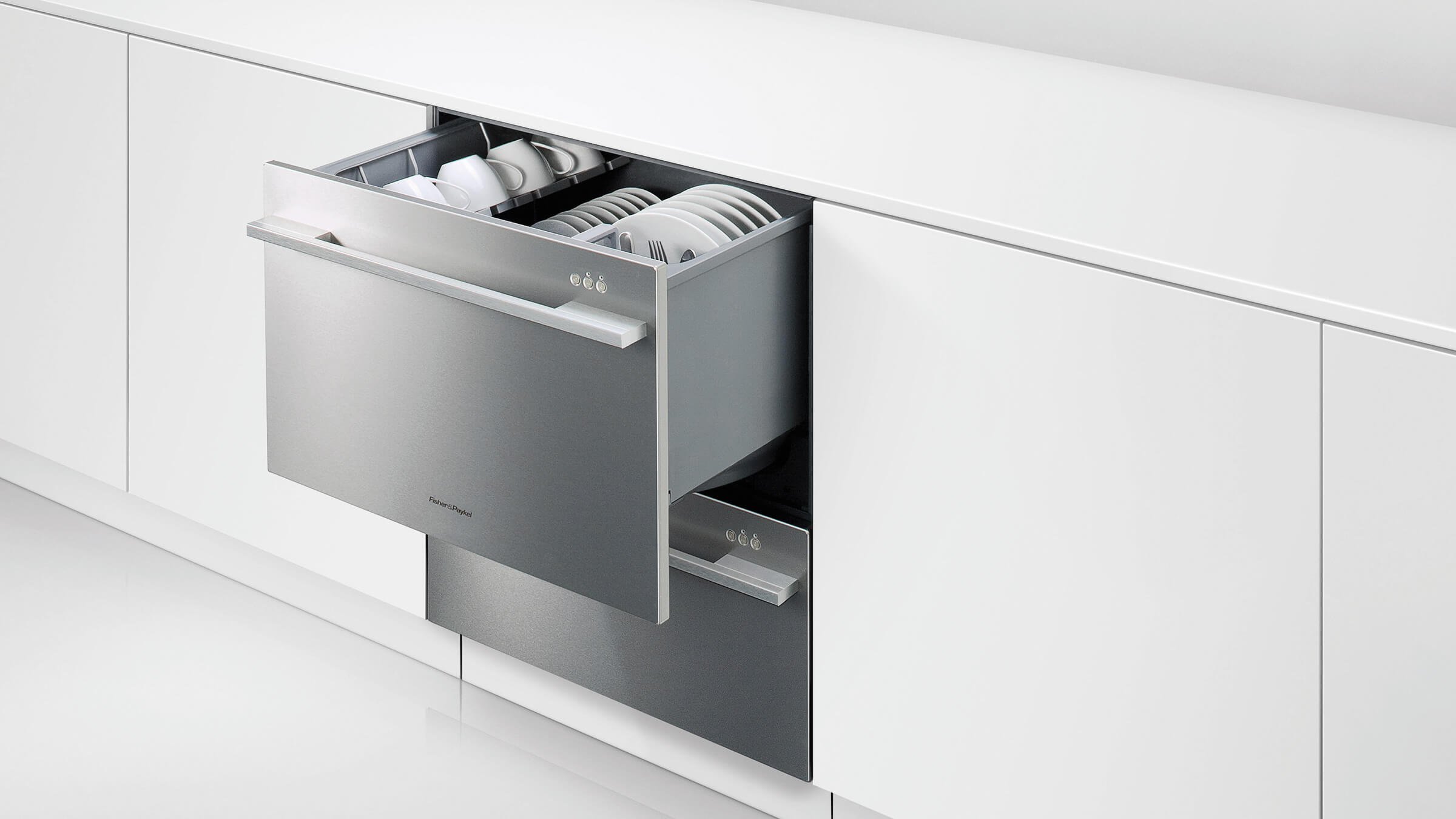 Fisher and paykel 2 drawer dishwasher - Dishdrawer Double Dishwasher