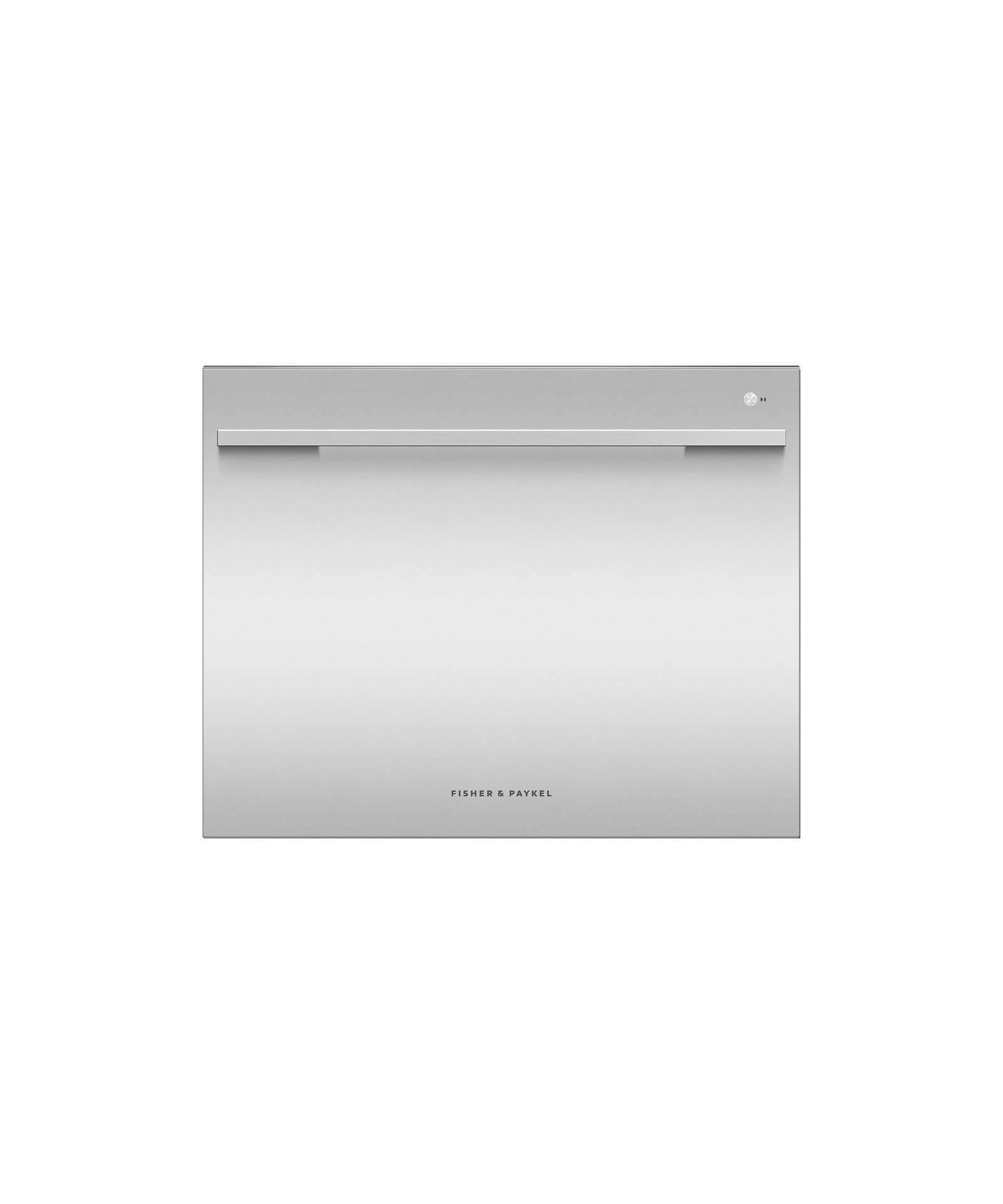 Fisher and Paykel Single DishDrawer™ Dishwasher, 7 Place Settings, Sanitize (Tall)