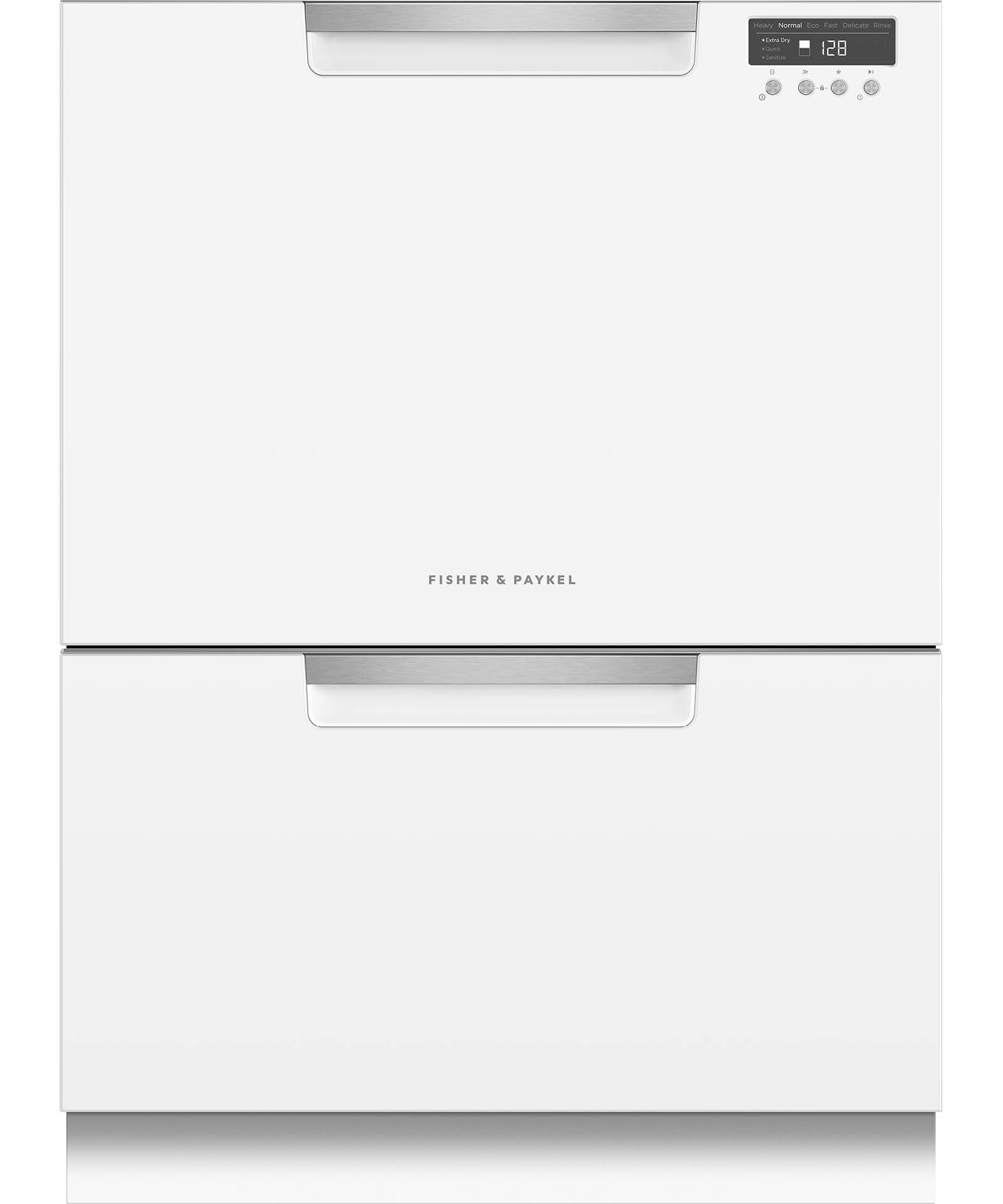 DD24DCTW9_N - Tall Double DishDrawer™ Dishwasher incl Sanitize, Extra Dry and full flex racking - 81597