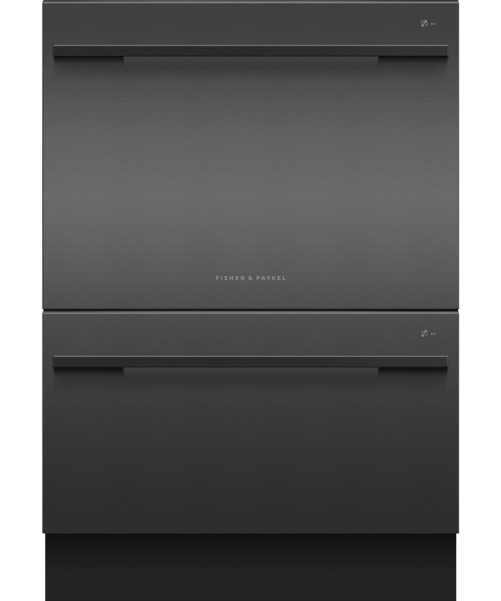 DD24DDFTB9_N - Double DishDrawer, Black - 81834