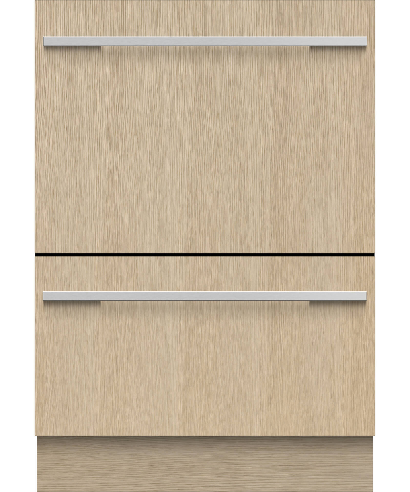 DD24DHTI9_N - Tall Panel Ready Double DishDrawer™ Dishwasher incl Sanitize, Extra Dry, full flex racking and water softener - 81216
