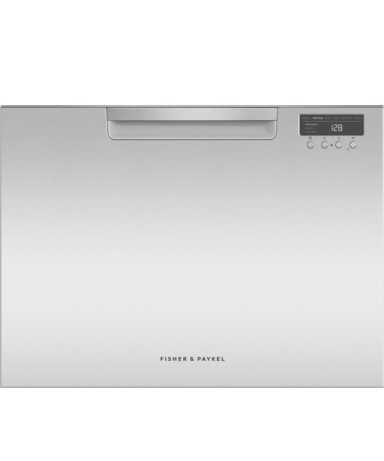 Single DishDrawer™, 7 Place Settings, Water Softener