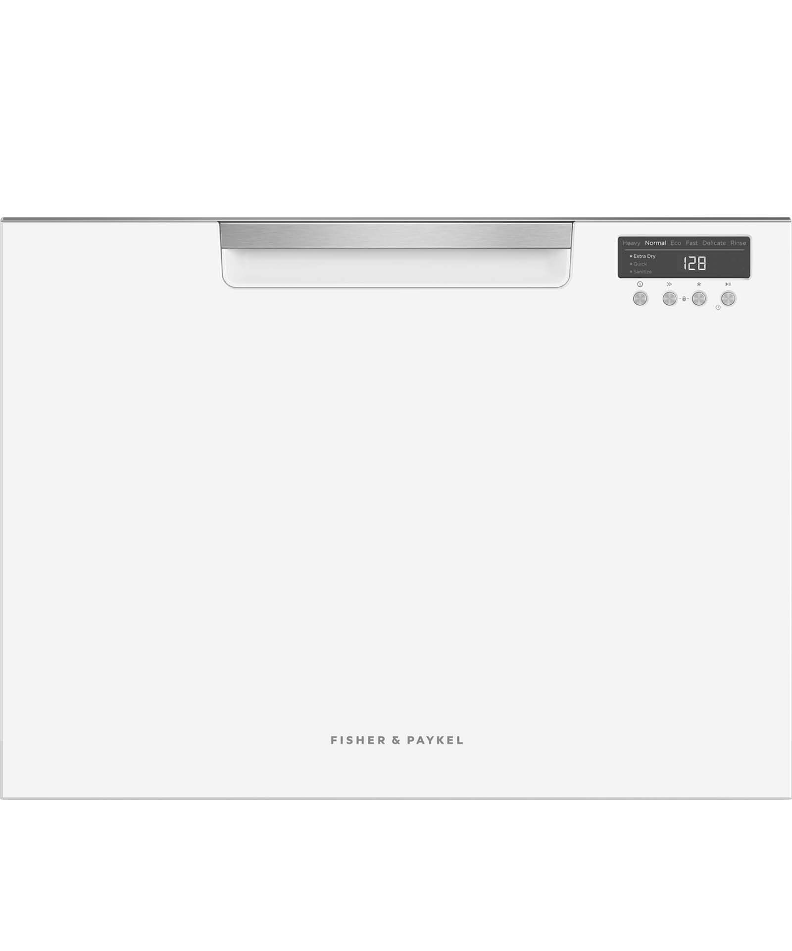 DD24SCTW9_N - Tall Single DishDrawer™ Dishwasher incl Sanitize, Extra Dry  and full flex racking