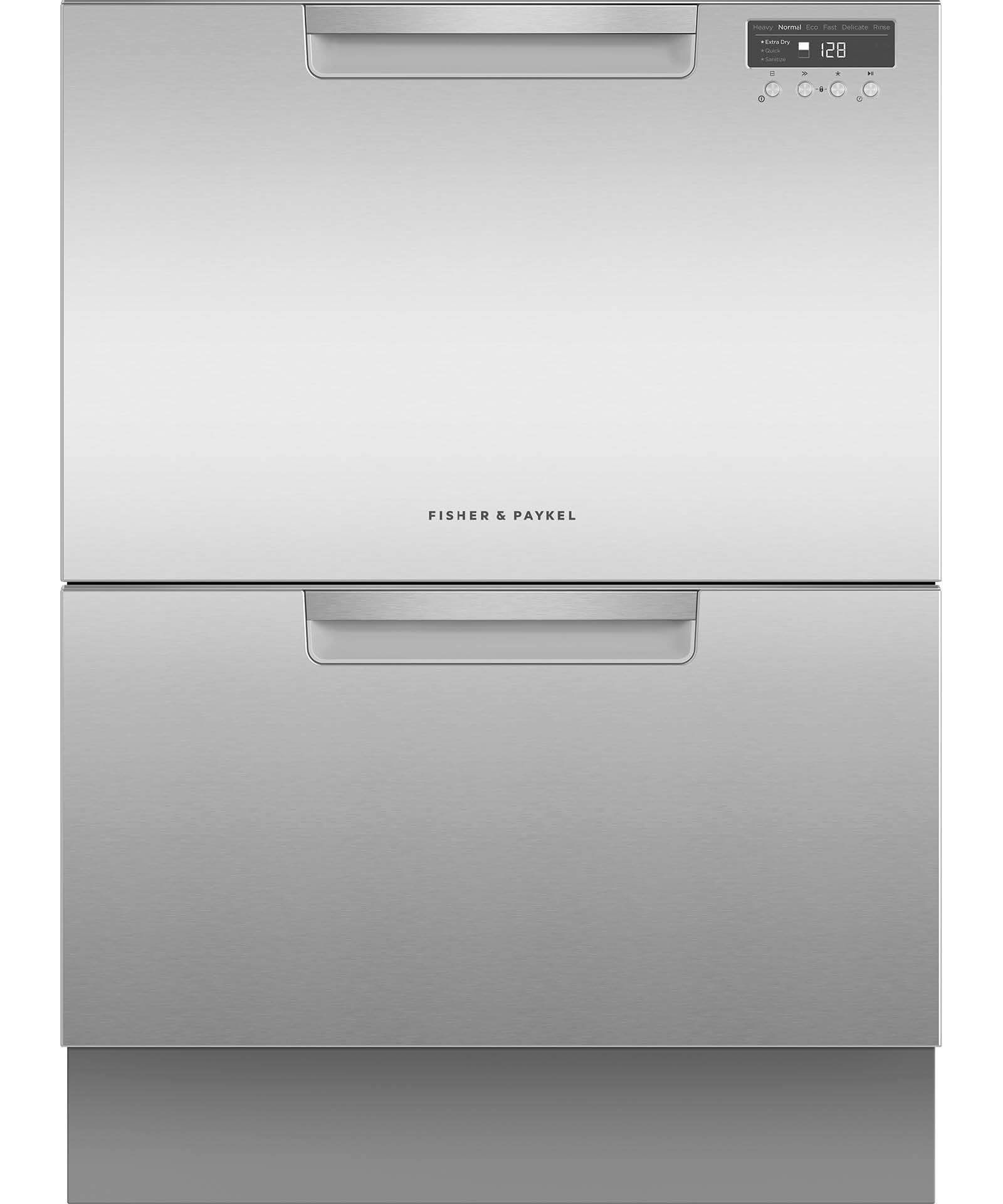 DD60DCX9 - Double DishDrawer™ Dishwasher incl Sanitise, Extra Dry and full flex racking - 81587
