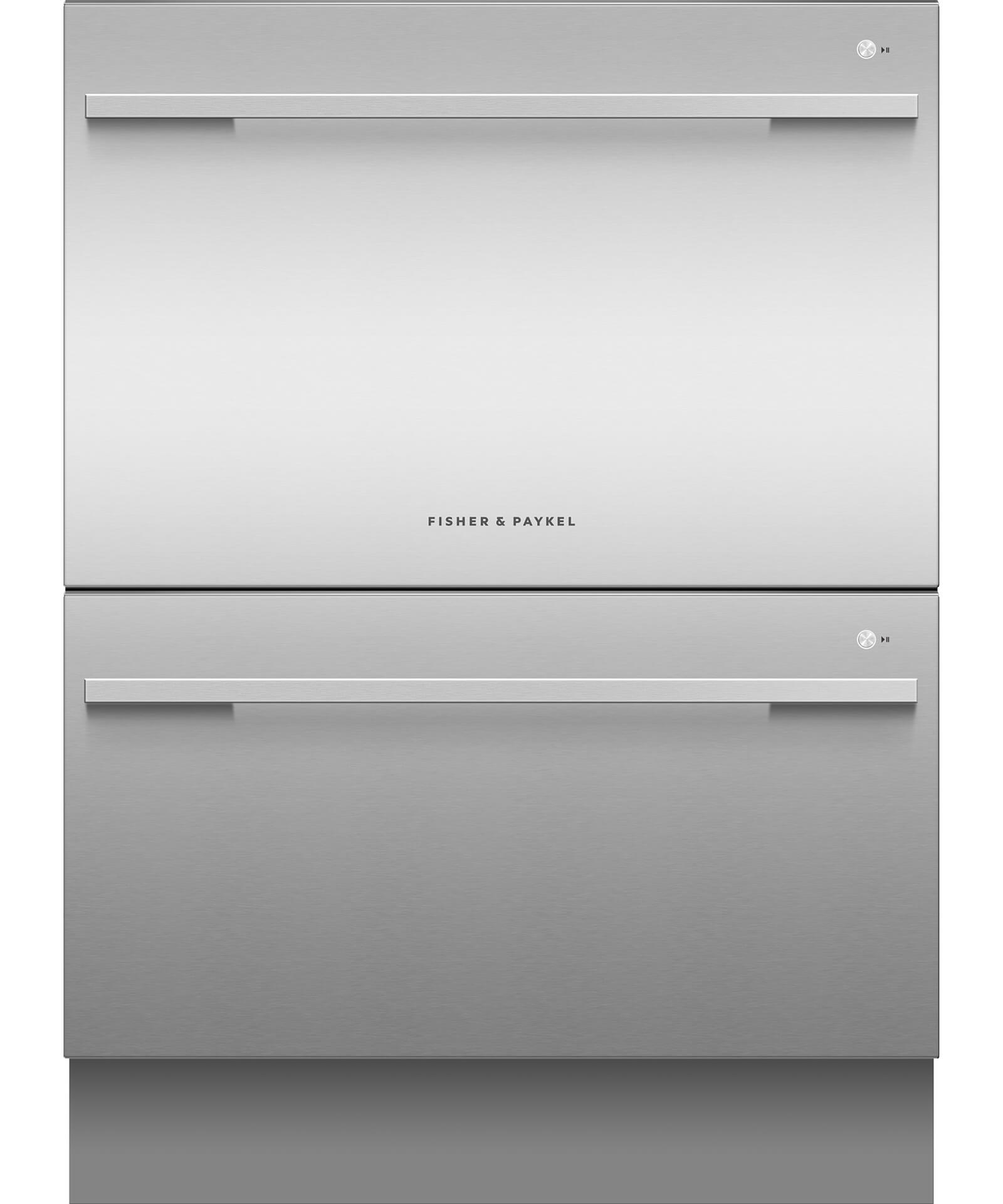 DD60DDFX9 - Double DishDrawer™ Dishwasher incl Sanitise, Extra Dry and full flex racking - 81213