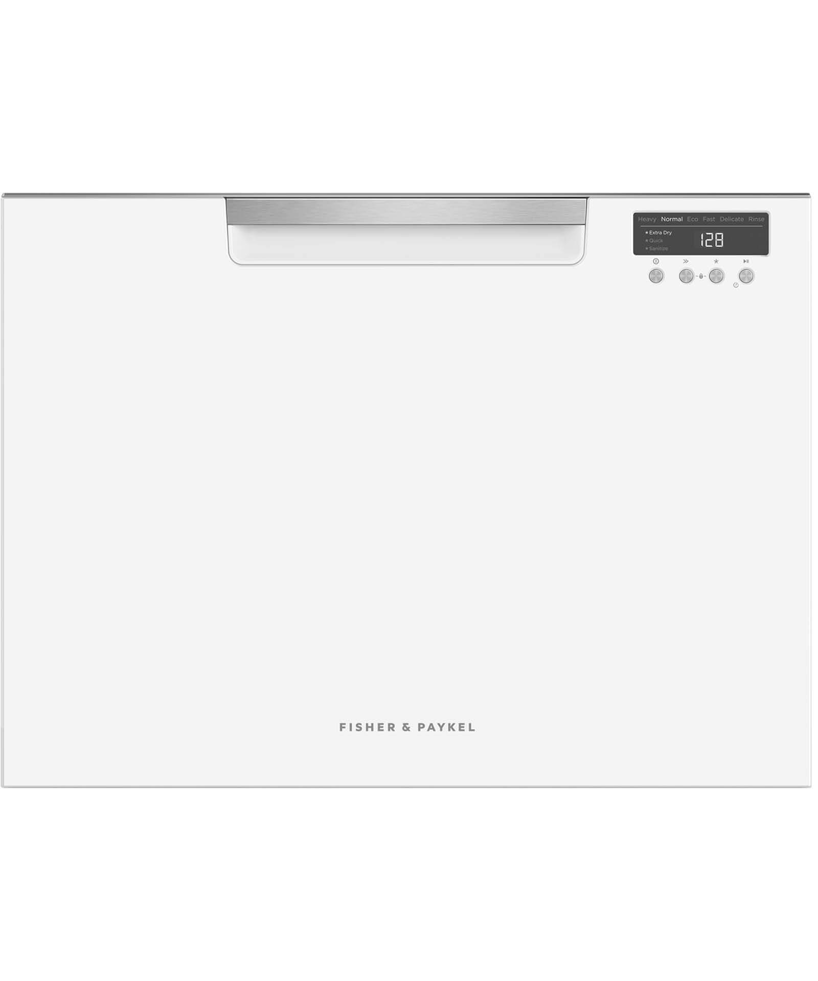 DD60SCTW9 - Tall Single DishDrawer™ Dishwasher incl Sanitise, Extra Dry and full flex racking - 81592