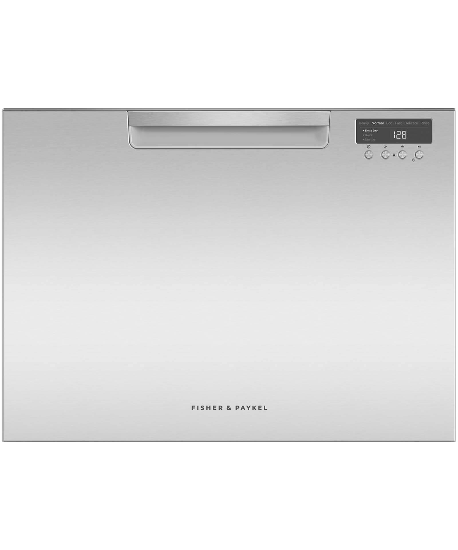 DD60SCTX9 - Tall Single DishDrawer™ Dishwasher incl Sanitise, Extra Dry and full flex racking - 81593